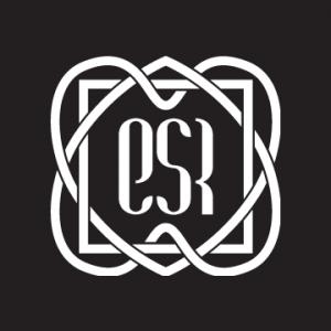 Logo ESR sfondo nero