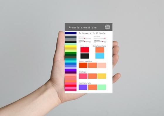 palette armonie cromatiche