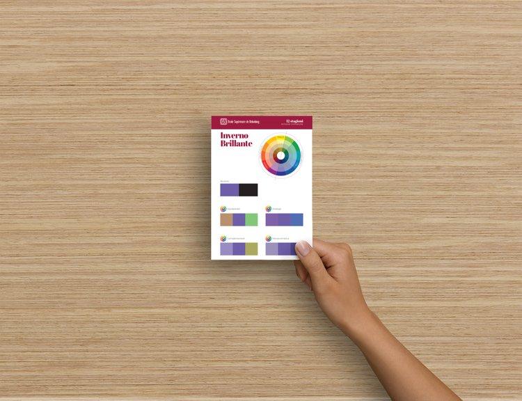 retro palette colori formato A6