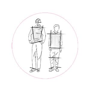 Abbigliamento maschile: morfologia